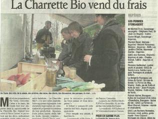 La Charette Bio vend du frais !