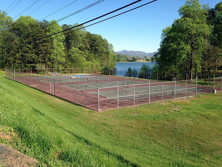 Restored Georgia Mountain Pickleball