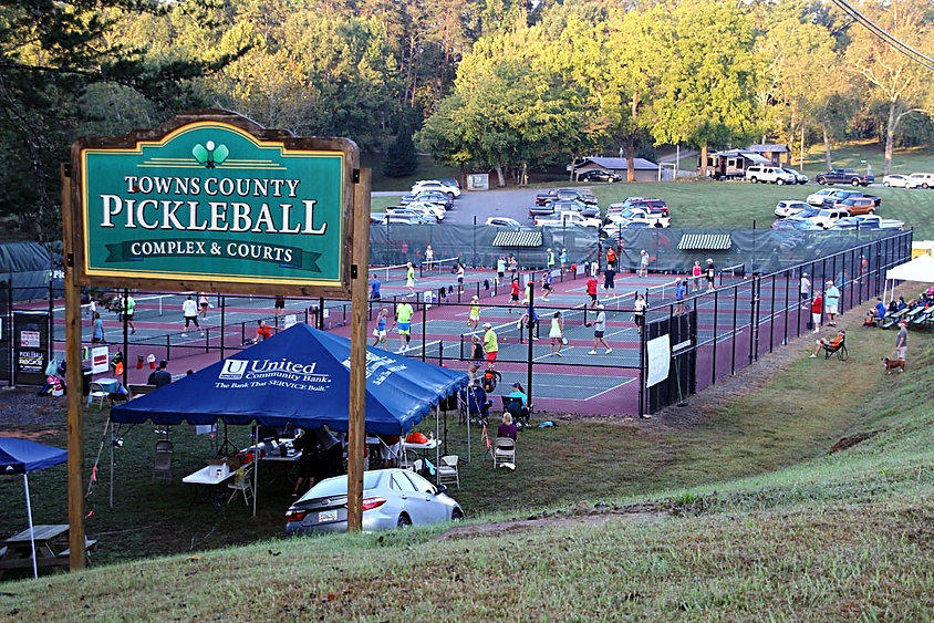 Towns County Georgia Pickleball