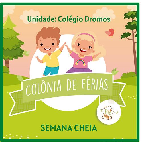 SEMANA CHEIA-DROMOS- COLONIA DE FERIAS