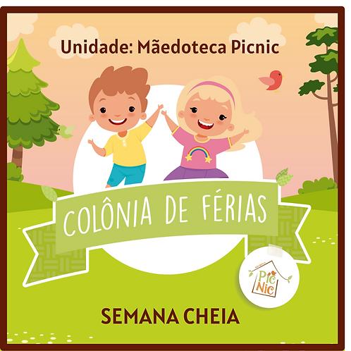 SEMANA CHEIA- PICNIC- COLONIA