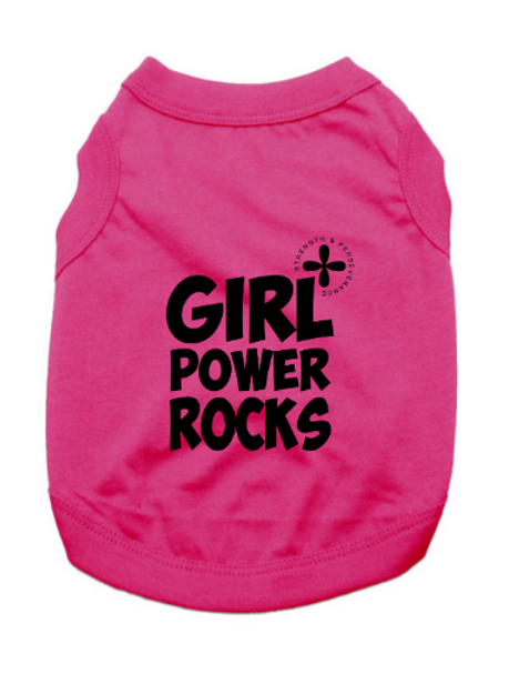 Girl Power Pet Shirts