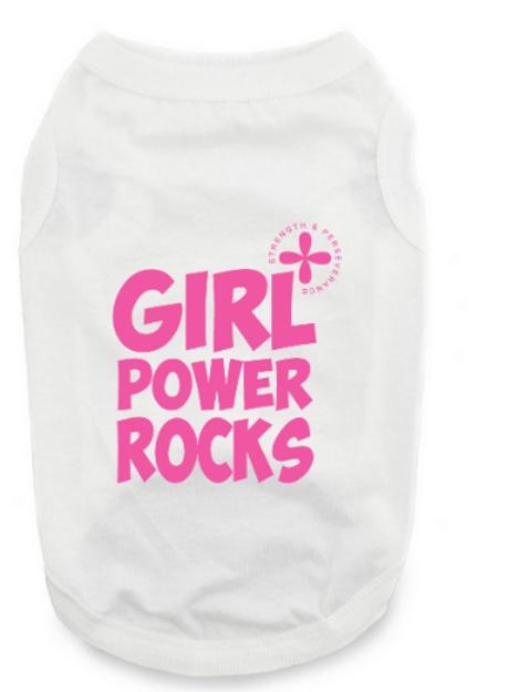 Girl Power Dog Shirts