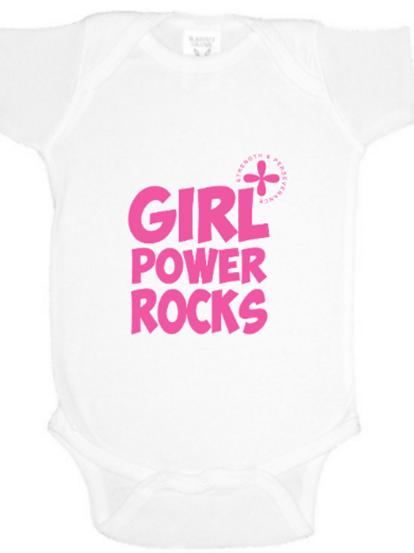 Girl Power Baby Onesie