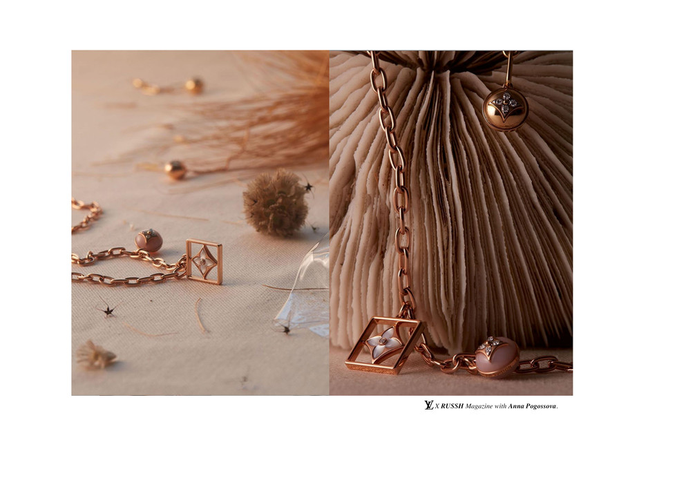 RUSSH x Louis Vuitton fine jewllery