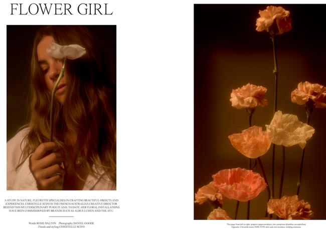 INPRINT - Fleurette feature by Daniel Goode