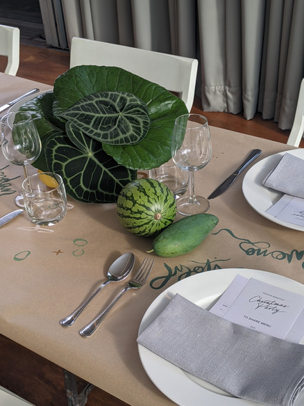 Sarah and Sebastian Dinner, Paramount House