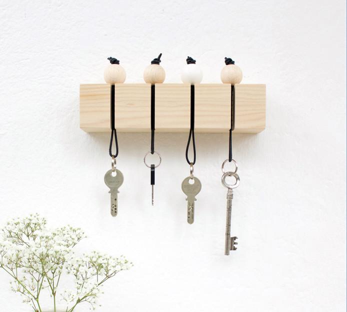 Veja como organizar chaves e chaveiros