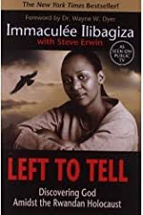 """Book cover for """"Left to Tell"""""""
