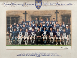 The Cavaliers Charge Forth! 30th Anniversary of Full-Contact American Football at Oxford University