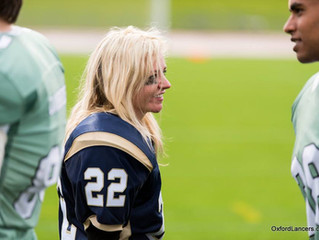 The First Woman to Play American Football at Oxford