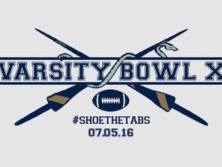 07/05/16 Varsity Bowl X - Oxford Lancers v Cambridge Pythons