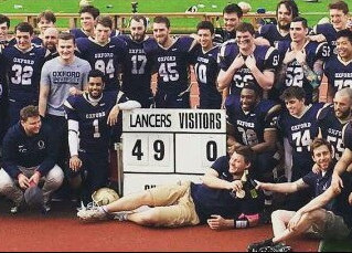 OXFORD LANCERS DOMINATE CAMBRIDGE PYTHONS IN HISTORIC VARSITY BOWL VICTORY