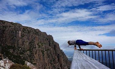 climbing coach yoga tasmania