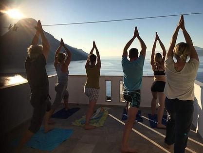 Yoga climbing trip Kalymnos