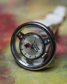 Corvette - Steering Wheel - Mechanical Wind Novelty Wristwatch  in Excellent original condition - (circa 1970s)