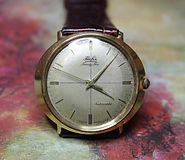 Hafis - Oval Gold Plated Dial - 25 Jewel Automatic Movement Wristwatch - (Circa 1950s)