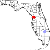 Citrus County map.png