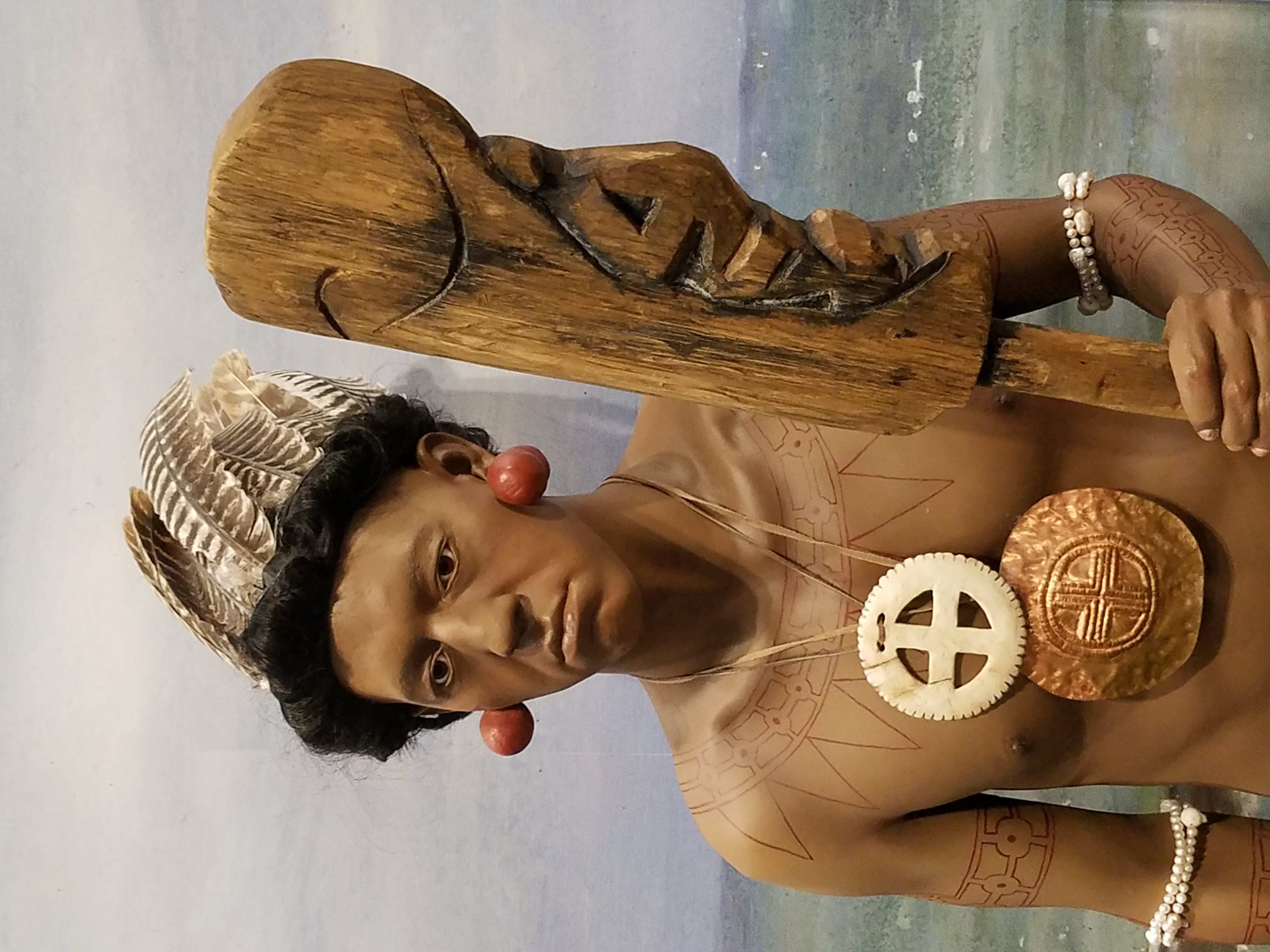 Timucian Indian Chief