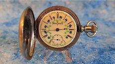 Trenton - Silveroid Hunters Case - Scarce Fancy Dial - 18 Size – Pocket Watch - (circa 1891)