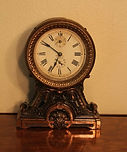 Seth Thomas - Ornate Alarm Clock - (circa 1950s)