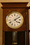 English - Floor Standing Jewelers Regulator Clock - (circa 1900)