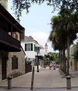 St. Augustine - Old Town Street Scene