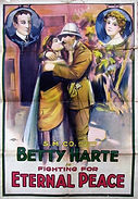 Betty Harte starring in Fighting for Eternal Peace  - Movie _Poster (1918) - picture - Leb