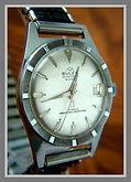 Buler - Thunderbird Style Case - Crème - 23 Jewel Mechanical Movement Wristwatch - (circa 1960s)
