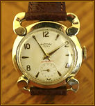 Continental - Unusual Rams Horn Lugs Wristwatch - (circa 1950s)
