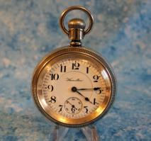 Hamilton - Authentic 4 Ounce Sterling Silver Swing Out Case - Montgomery Dial - 940 Movement - 21 Jewels - Adjusted 5 Positions - 18 Size - Railroad Grade Pocket Watch - (circa 1907)