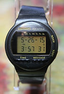 Seiko - Receptor - MA51-4A20 - Licensed by AT&E - Pager Wristwatch - (Circa early 1990s)