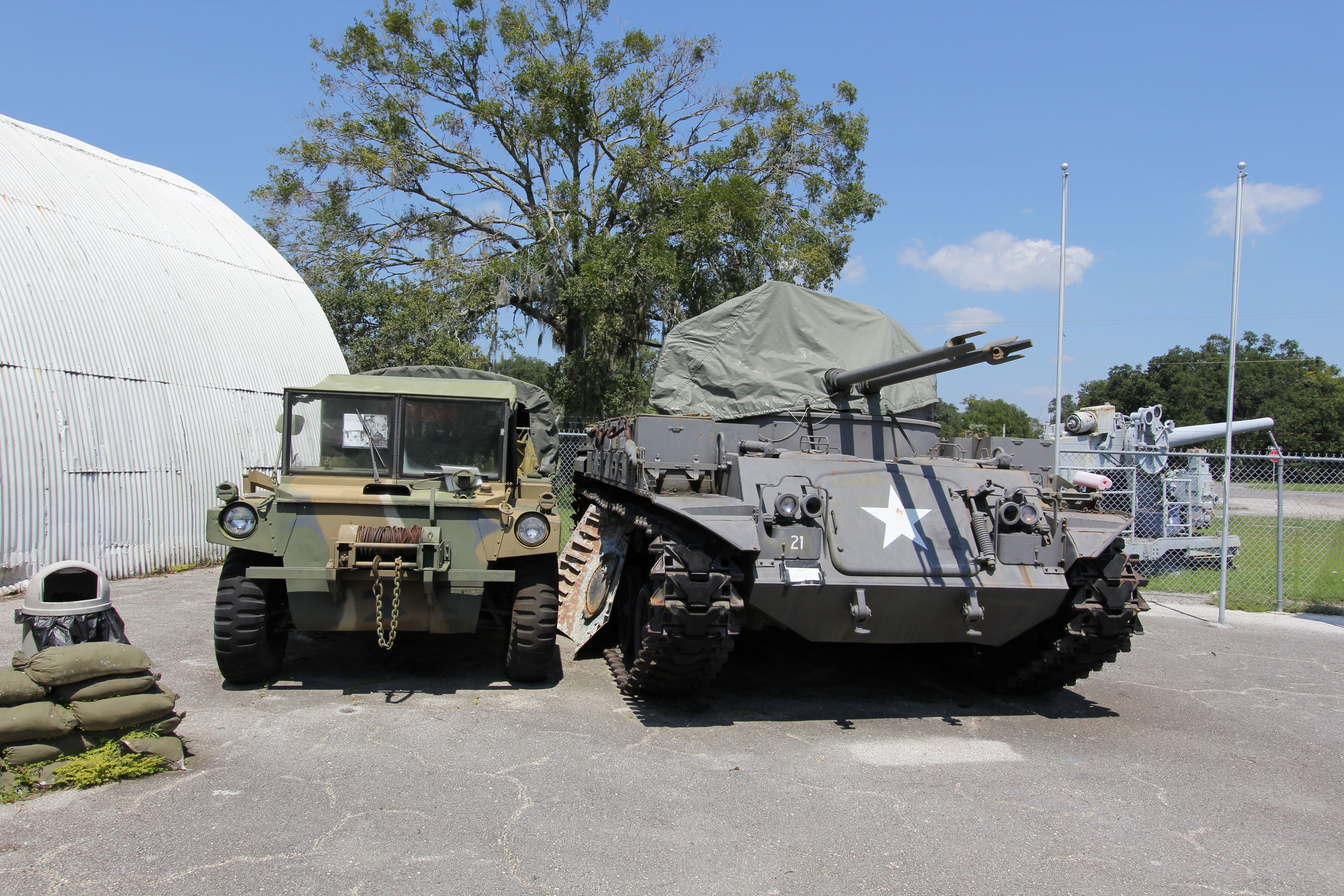 Military Museum of North Florida - Historic Vehicles