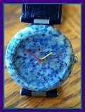 Tissot - Rock Watch - Blue Granite - R151 - Wristwatch (circa 1987)