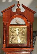 Custom - Solid Walnut Colonial Tall Case Clock - (circa 1960s)