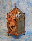 Smiths English Ltd., Brass Lantern Clock –  (circa 1950s)