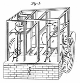 Dr. John Gorrie - Schematic of his ice machine
