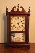 Seth Thomas Clock Company - Scroll and Pillar Clock - (circa 1930s)