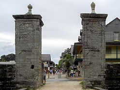 St. Augustine - City Walls and Gate