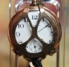 Hampden - 0 Size - Gold Filled Case with Shrapnel Guard Wristwatch - (Circa 1923)