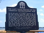 Last Naval Battle of the American Revolutionary War - sign