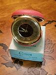 Elgin - Travel Mechanical Wind Alarm Clock  (circa 40s)