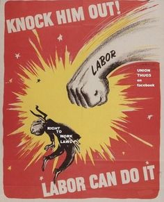 Knock Him Out - Labor Can Do It