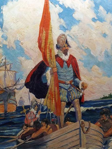 Spanish landing in La Florida in 1513