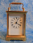 Waterbury - Brass and Glass Carriage Clock  - (circa 1895)