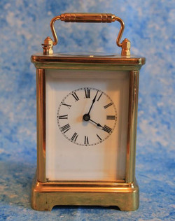Waterbury Carriage Clock - circa 1895