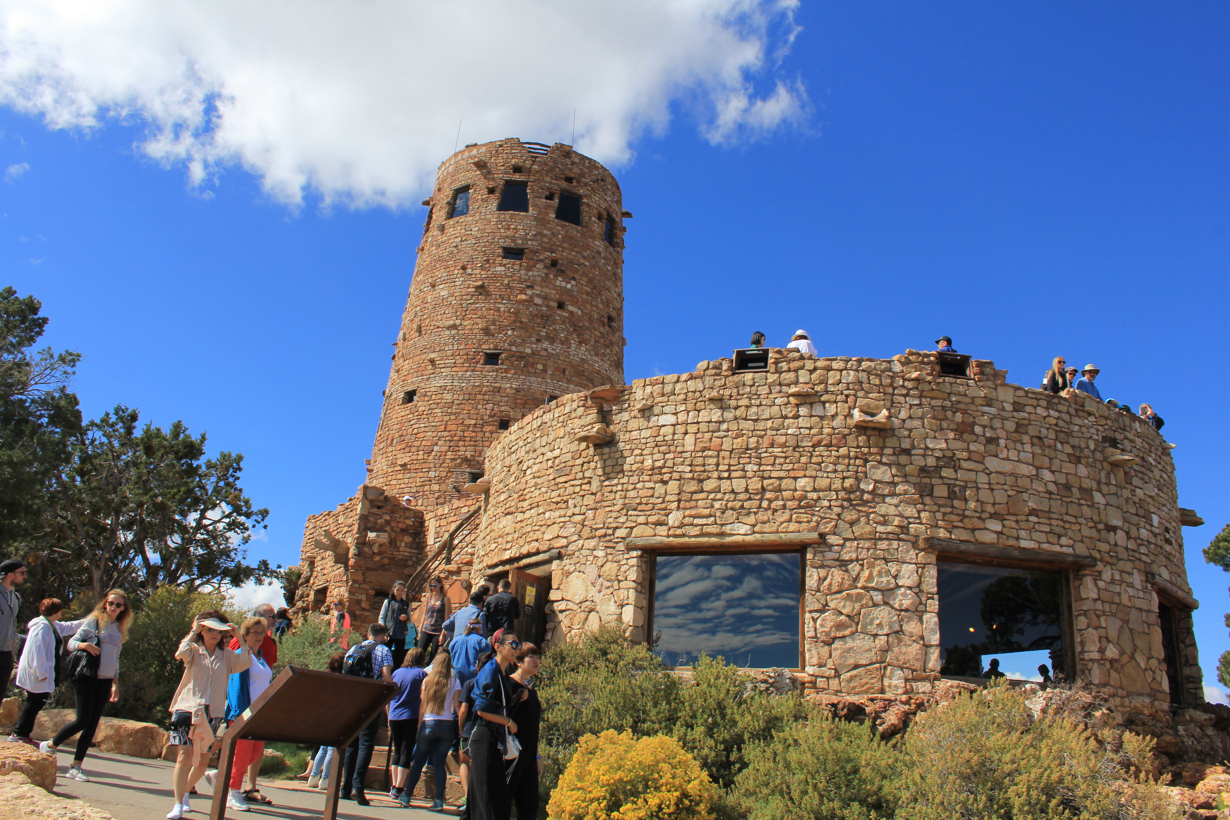 Grand Canyon - Desert View Watchtower