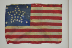 34 Star Antique U.S. Flag - Rare Civil War Era