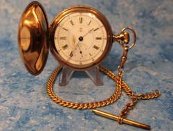 Hampden - 18 sz - Fancy Dial & Case - Fu
