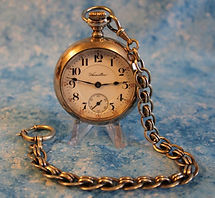 Hamilton - Authentic 4 Ounce Sterling Silver Screw On Back Case - 940 Movement - 21 Jewels - Adjusted 5 Positions - Near Mint Overall Condition - 18 Size - Railroad Grade Pocket Watch - (circa 1911)